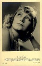 act007108 - Greta Garbo Postcard Post Card