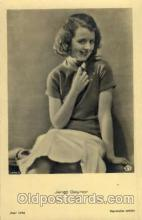 act007129 - Janet Gaynor Postcard Post Card