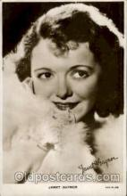 act007132 - Janet Gaynor Postcard Post Card