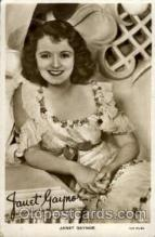 act007134 - Janet Gaynor Postcard Post Card