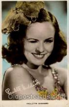act007135 - Paulette Goddard Postcard Post Card