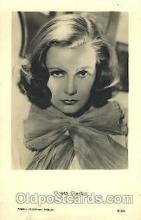 act007139 - Greta Garbo Actor, Actress, Movie Star, Postcard Post Card