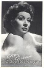 act007142 - Greer Garson Actor, Actress, Movie Star, Postcard Post Card