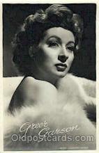 act007145 - Greer Garson Actor, Actress, Movie Star, Postcard Post Card