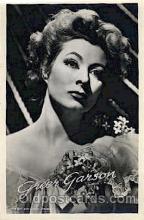act007146 - Greer Garson Actor, Actress, Movie Star, Postcard Post Card