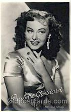 act007148 - Paulette Goddard Actor, Actress, Movie Star, Postcard Post Card