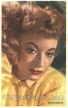 act007150 - Greer Garson Trade Card Actor, Actress, Movie Star, Postcard Post Card