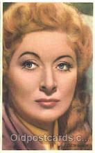 act007151 - Greer Garson Trade Card Actor, Actress, Movie Star, Postcard Post Card