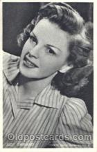 act007157 - Judy Garland Trade Card Actor, Actress, Movie Star, Postcard Post Card