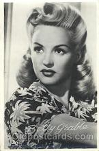 act007159 - Betty Grable Actor, Actress, Movie Star, Postcard Post Card
