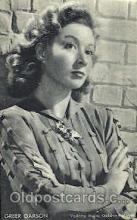 act007168 - Greer Garson Non Postcard, Actor, Actress, Movie Star, Postcard Post Card