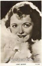 act007171 - Janet Gaynor Actor, Actress, Movie Star, Postcard Post Card