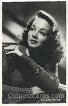 act007173 - Kathryn Grayson Actor, Actress, Movie Star, Postcard Post Card
