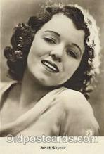 act007174 - Janet Gaynor Actor, Actress, Movie Star, Postcard Post Card