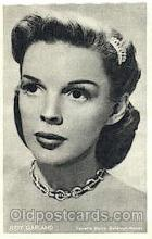 act007177 - Judy Garland Trade Card Actor, Actress, Movie Star, Postcard Post Card