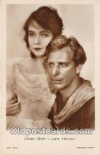 act007194 - Lillian Gish Movie Actor / Actress, Entertainment Postcard Post Card