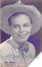 act007201 - Hoot Gibson Movie Actor / Actress, Entertainment Postcard Post Card