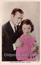 act007203 - James Dunn & Janet Gaynor Movie Actor / Actress, Entertainment Postcard Post Card