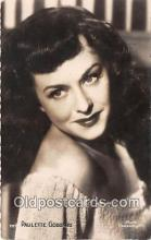 act007210 - Paulette Goddard Movie Actor / Actress, Entertainment Postcard Post Card