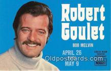 act007222 - Robert Goulet Movie Actor / Actress, Entertainment Postcard Post Card