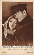 act007227 - Greta Garbo Movie Actor / Actress, Entertainment Postcard Post Card