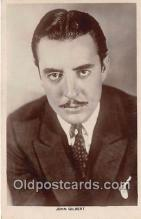 act007234 - John Gilbert Movie Actor / Actress, Entertainment Postcard Post Card
