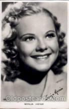 act008010 - Sonja Henie Actress/ Actor Postcard Post Card Old Vintage Antique