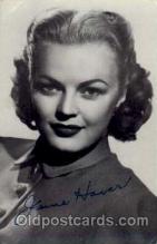 act008019 - June Haver Actress/ Actor Postcard Post Card Old Vintage Antique