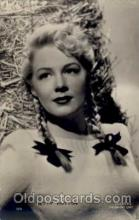 act008020 - Betty Hutton Actress/ Actor Postcard Post Card Old Vintage Antique