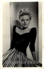 act008022 - June Haver  Actress/ Actor Postcard Post Card Old Vintage Antique