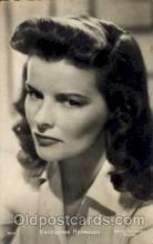 act008024 - Katherine Hepburn  Actress/ Actor Postcard Post Card Old Vintage Antique