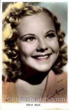 act008053 - Sonja Henie Postcard, Post Card