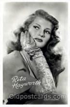 act008056 - Rita Hayworth Actress/ Actor Postcard Post Card Old Vintage Antique