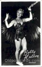 act008061 - Betty Hutton Actress/ Actor Postcard Post Card Old Vintage Antique