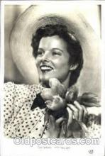 act008068 - Kathryn Hepburn Actress/ Actor Postcard Post Card Old Vintage Antique
