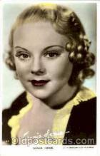 act008074 - Sonja Henie Actress/ Actor Postcard Post Card Old Vintage Antique