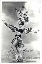 act008075 - Sonja Henie Actress/ Actor Postcard Post Card Old Vintage Antique