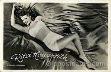 act008077 - Rita Hayworth Actress/ Actor Postcard Post Card Old Vintage Antique