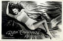 act008078 - Rita Hayworth Actress/ Actor Postcard Post Card Old Vintage Antique