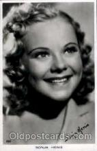act008079 - Sonja Henie Actress/ Actor Postcard Post Card Old Vintage Antique