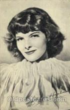 act008085 - Katharine Hepburn Actress/ Actor Postcard Post Card Old Vintage Antique