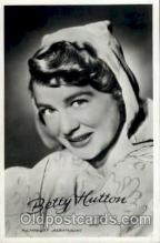 act008098 - Betty Hutton Postcard Post Card