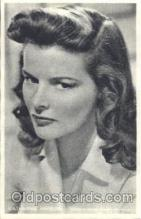 act008135 - Katharine Hepburn Actor, Actress, Movie Star, Postcard Post Card
