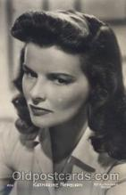 act008140 - Katharine Hepburn Actor, Actress, Movie Star, Postcard Post Card