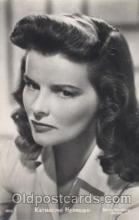 act008142 - Katharine Hepburn Actor, Actress, Movie Star, Postcard Post Card