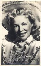 act008145 - Betty Hutton Actor, Actress, Movie Star, Postcard Post Card