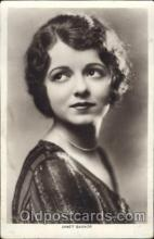 act008146 - Janet Gaynor Actor, Actress, Movie Star, Postcard Post Card