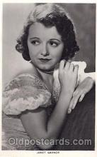 act008150 - Janet Gaynor Actor, Actress, Movie Star, Postcard Post Card