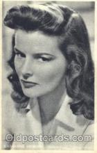 act008154 - Katharine Hepburn Non Postcard, Actor, Actress, Movie Star, Postcard Post Card