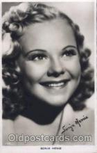 act008156 - Sonja Henie Actor, Actress, Movie Star, Postcard Post Card
